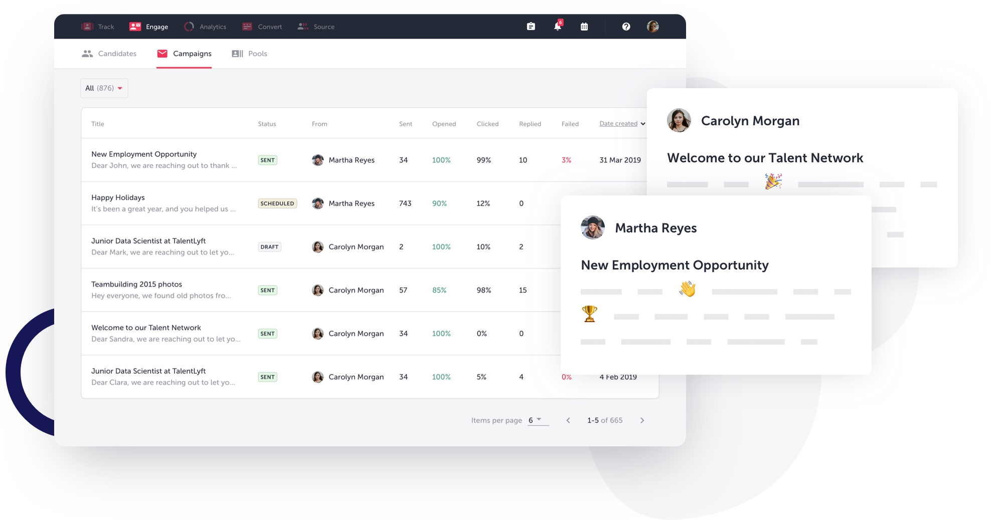 TalentLyft talent CRM